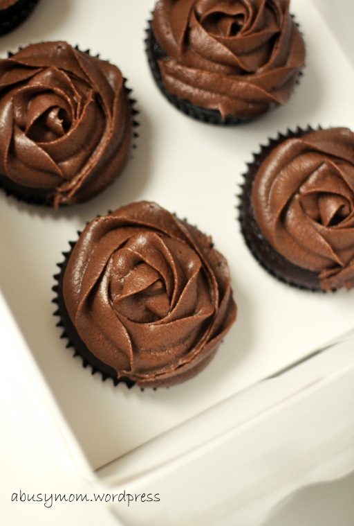 Earl grey chocolate cupcake 6