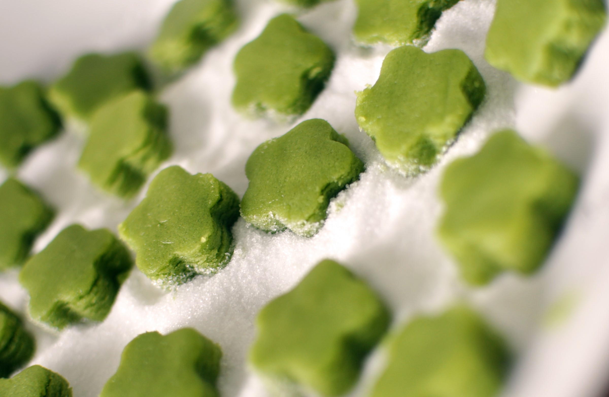 Matcha Shortbread Cookies | Abusymom's Blog