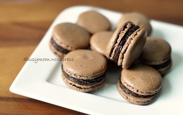 Chocolate Macaron 06