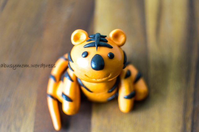 Tiger Fondant